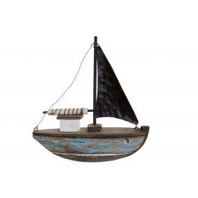 FIGURE PAULOWNIA METAL 19X5,3X21 SHIP