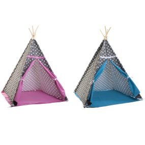TIPI COTTON CANVAS 120X120X150 STARS 2 MOD.