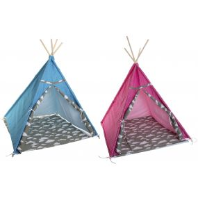 TIPI COTTON CANVAS 120X120X150 CLOUDS 2 MOD.