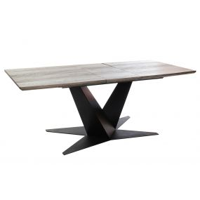 TABLE MDF METAL 160X90X76 EXTENSIBLE TO 200 CM