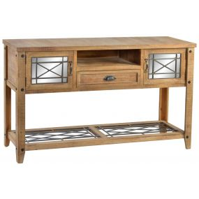 CONSOLE TABLE SPRUCE MIRROR 145X36X80