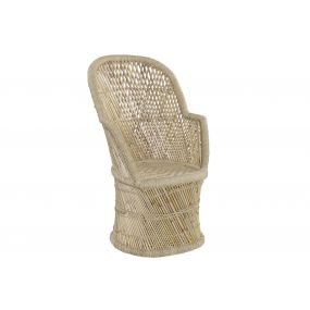 ARMCHAIR BAMBOO ROPE 67X60X117 NATURAL