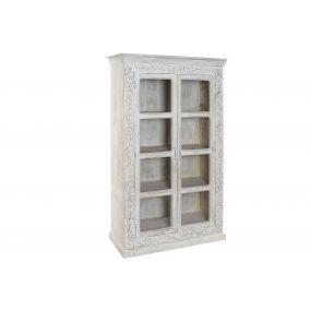 SHOWCASE MANGO GLASS 100X45X180 DECAPE WHITE