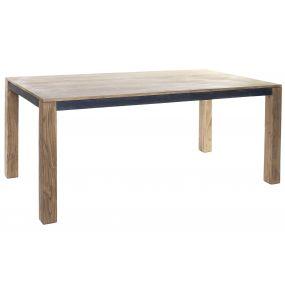 TABLE ACACIA 175X90X76 44,40KG DARK BROWN