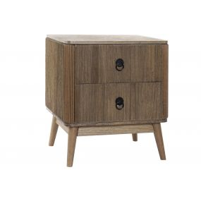 BEDSIDE TABLE PAULOWNIA 51X38X57 NATURAL