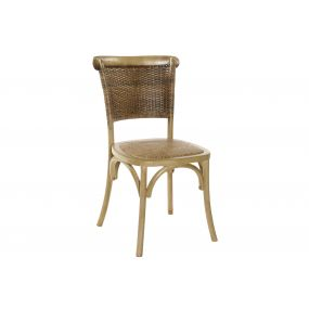 CHAIR BIRCH RATTAN 49X45X87,5 150 RACK NATURAL