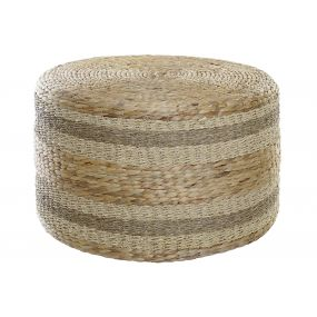 FOOTREST FIBER SEAGRASS 65X65X39 63 NATURAL
