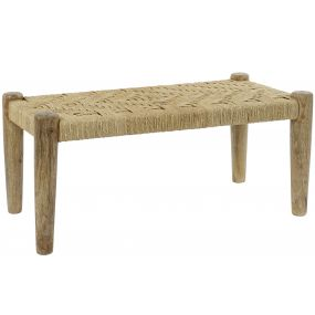 SHOE-REMOVING CHAIR MANGO ROPE 88X42X39,5 NATURAL