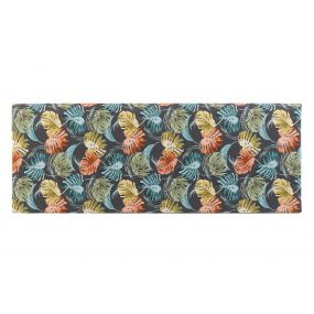 BED HEADER POLYESTER WOOD 160X10X60 TROPICAL