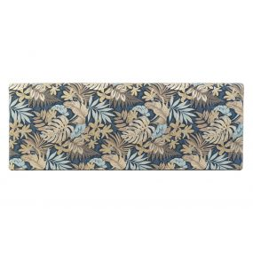 BED HEADER POLYESTER WOOD 160X10X60 TROPICAL GREEN