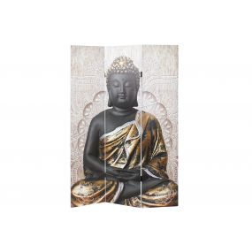 FOLDING SCREEN CANVAS PINE TREE 180X2X180 BUDDHA