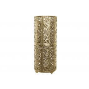 UMBRELLA STAND METAL 22X22X54 ETHNIC GOLDEN