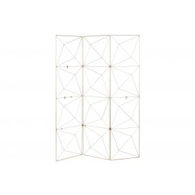 FOLDING SCREEN METAL 120X160 NOTES HOLDER SPARKLY