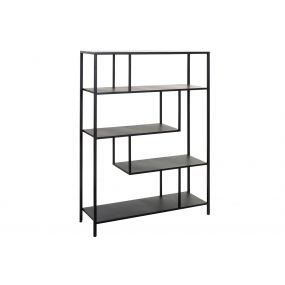 SHELVING METAL 85X26X121 BLACK