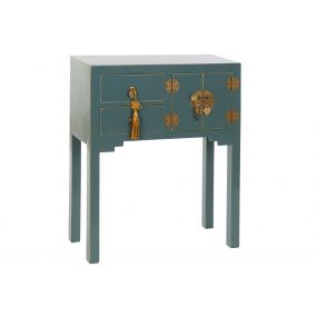 CONSOLE TABLE SOLID WOOD MDF 63X26X83 ORIENTAL