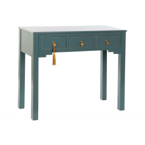 CONSOLE TABLE MDF SOLID WOOD 95X40X81 ORIENTAL