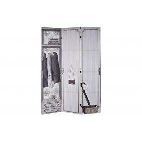 FOLDING SCREEN CANVAS 180X2X180 DRESSING ROOM