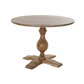 TABLE ACACIA 105X105X76 NATURAL