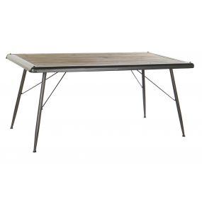 TABLE SPRUCE METAL 161X90X75 LIGHT GRAY