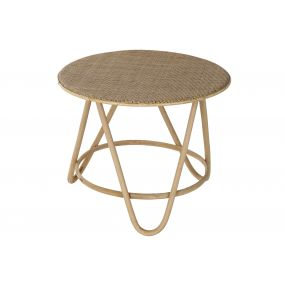 AUXILIARY TABLE RATTAN 61X61X50 NATURAL