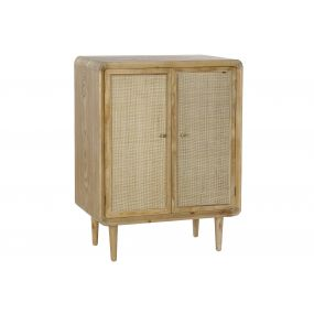 SIDEBOARD SPRUCE RATTAN 80X40X105 NATURAL