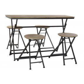 AUXILIARY TABLE SET 4 SPRUCE 141,5X151X86,5 38
