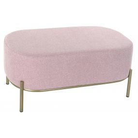 SHOE-REMOVING CHAIR POLYESTER METAL 80X42X38 PINK