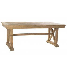 TABLE PINE TREE 200X90X78 AGED NATURAL