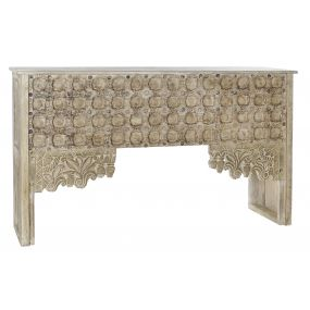 CONSOLE TABLE MANGO 151X44X88 NATURAL
