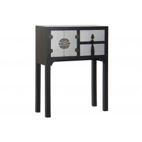 CONSOLE TABLE SPRUCE MDF 63X26X83 ORIENTAL BLACK