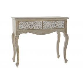 CONSOLE TABLE MANGO 92X42X81 NATURAL