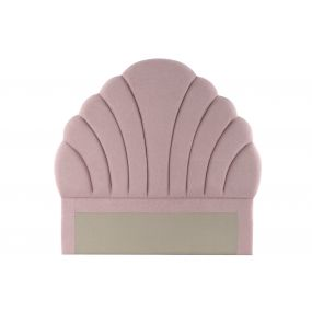 BED HEADER POLYESTER MDF 162X5X162 PINK