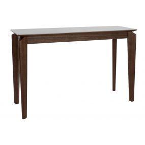 CONSOLE TABLE WALNUT CERAMIC 120X39X77 WHITE