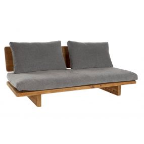 COUCH RECICLED WOOD PINE TREE 195X88X75 AGED GREY
