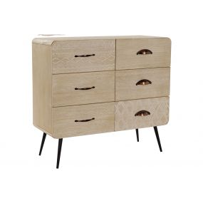 CHEST OF DRAWERS PAULOWNIA MDF 73X30X67 RECORDED