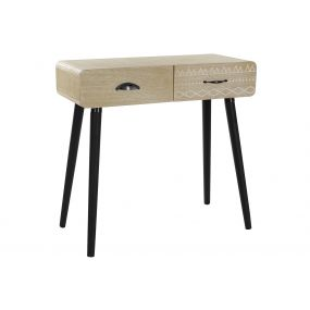 CONSOLE TABLE PAULOWNIA MDF 80X36X77,5 RECORDED