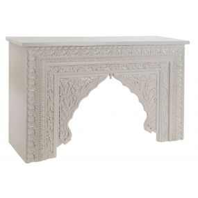CONSOLE TABLE MANGO 120X40X76 WHITE