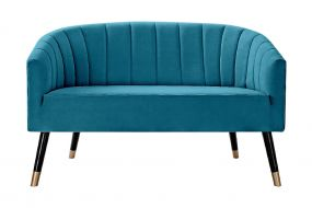 COUCH POLYESTER BIRCH 124X73X78 GREEN