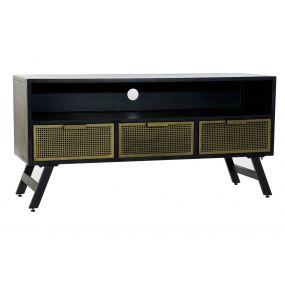 TV CABINET METAL 125X40X60 RACK