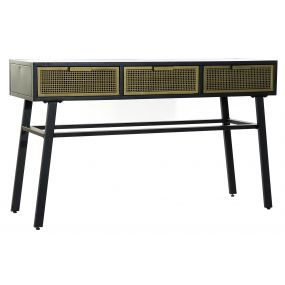 CONSOLE TABLE METAL 130X40X76 RACK