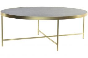 COFFEE TABLE STEEL GLASS 110X55X40 5 MM.