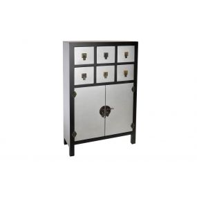 CHEST OF DRAWERS MDF MDF 63X27X101 JAPANESE BLACK