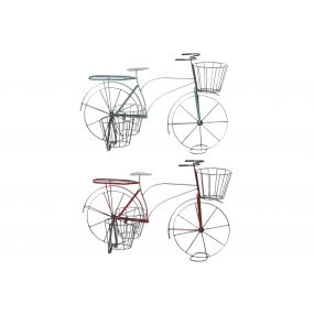 FLOWERPOT STAND METAL 68X33X42 BICYCLE 2 MOD.