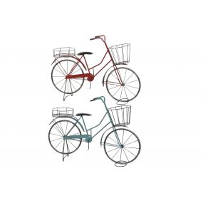 FLOWERPOT STAND METAL 65X15X44 BICYCLE 2 MOD.
