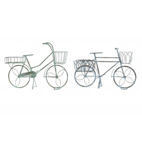 FLOWERPOT STAND METAL 55X30X40 BICYCLE 2 MOD.