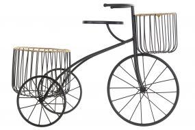 FLOWERPOT STAND METAL 60X24X41 BICYCLE
