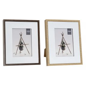 PHOTO FRAME MDF GLASS 13X18 22X3X27 2 MOD.