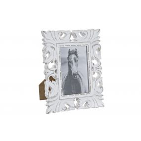 PHOTO FRAME MDF GLASS 10X15 WHITE