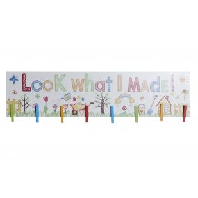 PHOTO FRAME MDF 80X21,5X2,2 ANIMALS MULTICOLORED