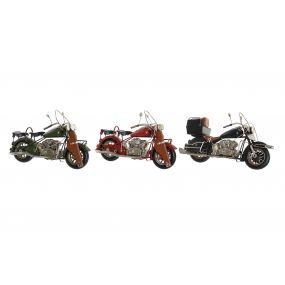 DECORATIVE VEHICLE METAL 27X11X17,5 MOTORCYCLE 3 M